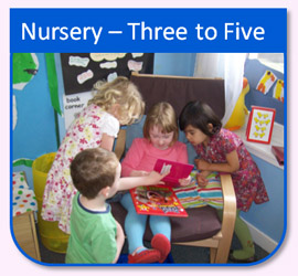 Nursery Pre School Three to Five Children at Play Great Western Aberdeen